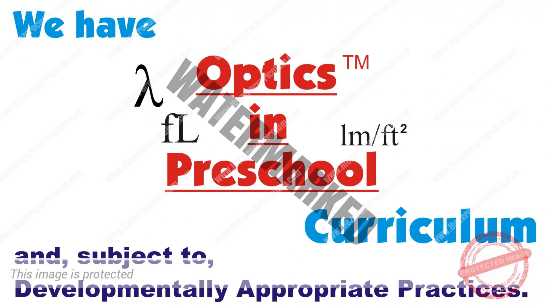 Optics in Preschool